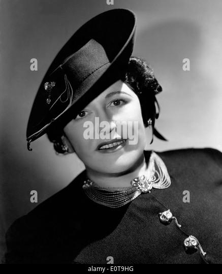 Louella Parsons, American Movie Columnist, Portrait, circa 1930's - Stock Image