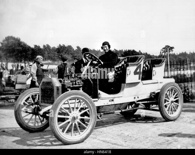 1908 Buick at Brooklands - Stock Image