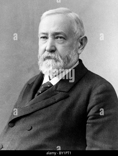 Benjamin Harrison, 23rd President of the United States - Stock Image