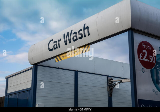 Tesco Automatic Car Wash