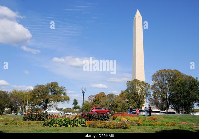 Washington Monument, Washington D.C. - Stock Image