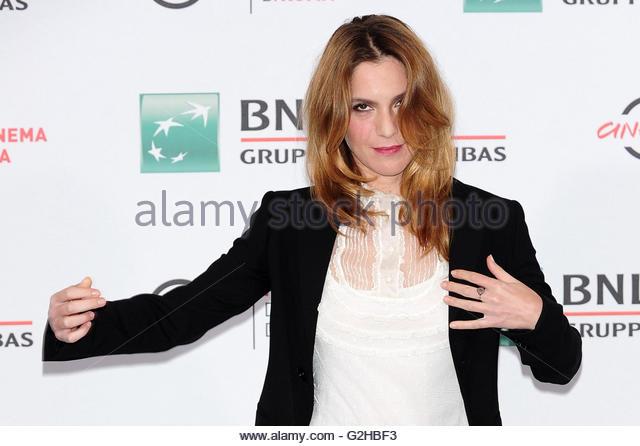 Isabella Ragonese roma 15-10-2016 - Stock Image