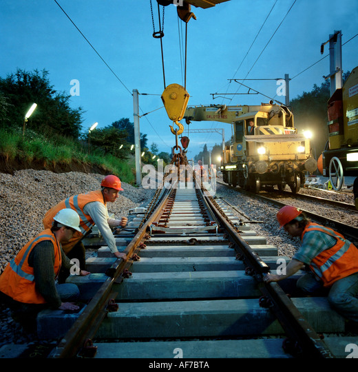 Agree with british railways track laying by night authoritative point