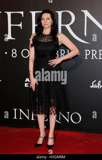 Laura Prepon Florence 8th October 2016. 'Inferno' World Premiere. Foto Samantha Zucchi Insidefoto - Stock Image