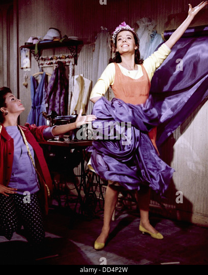 WEST SIDE STORY - Natalie Wood - Directed by Robert Wise - Mirisch Pictures 1961 - Stock Image