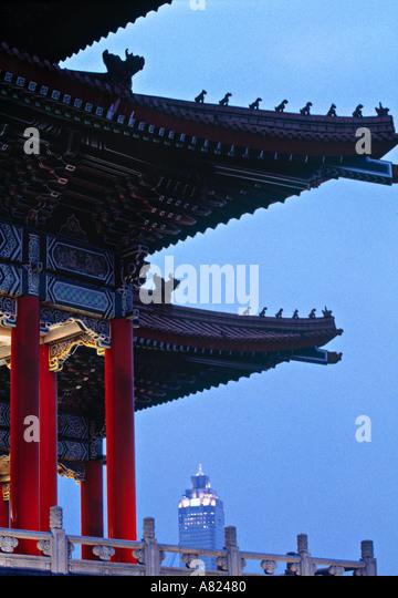 Chiang Kai-Shek Sq. Taipei, Taiwan - Stock Image