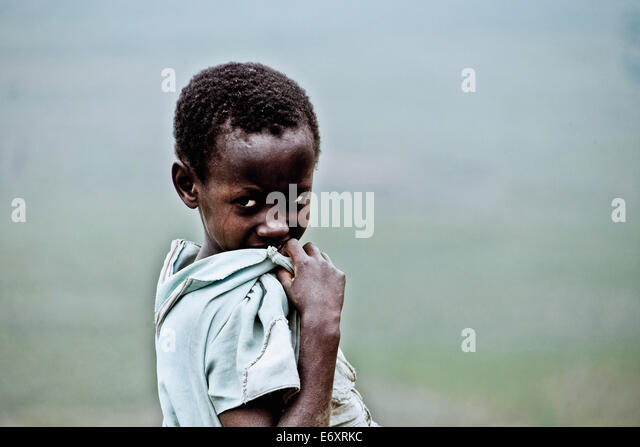 Young girl, Uganda, Africa - Stock Image