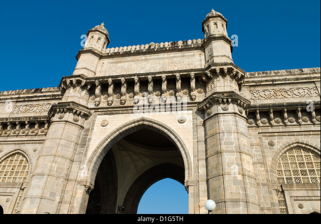 Gateway of India, Mumbai (Bombay), Maharashtra, India, Asia - Stock Image