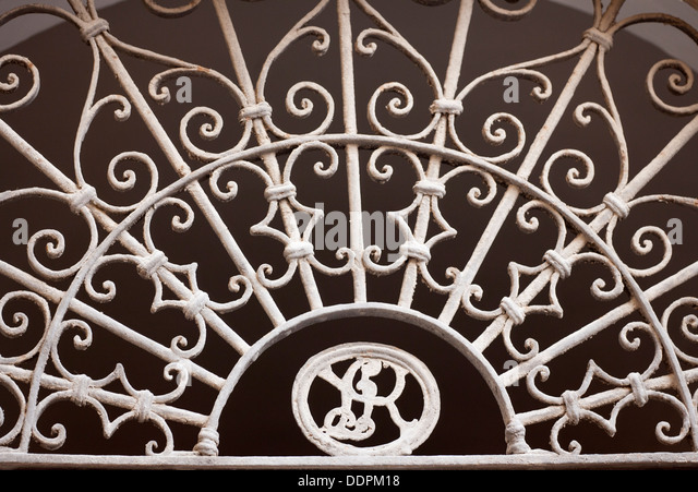 Italian architecture abstract detail - Stock Image