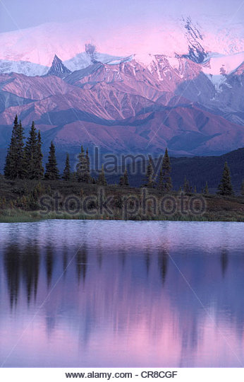 Denali National Park, Alaska - Stock Image