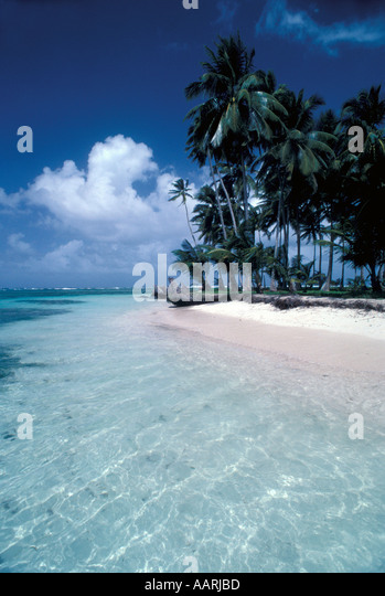 Panama San Blas Islands Cuna Indians - Stock Image