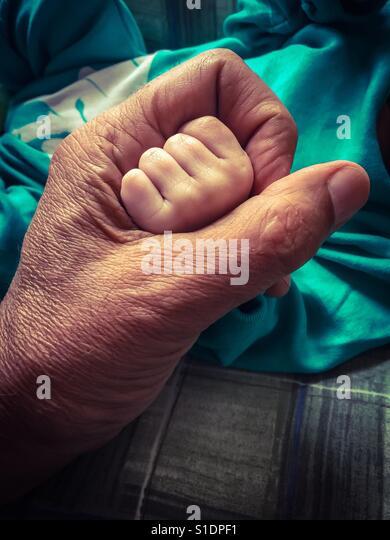 The future in my hand - Stock-Bilder