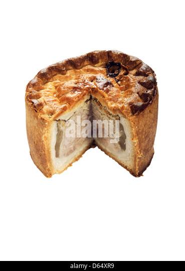 Pork pie - Stock Image