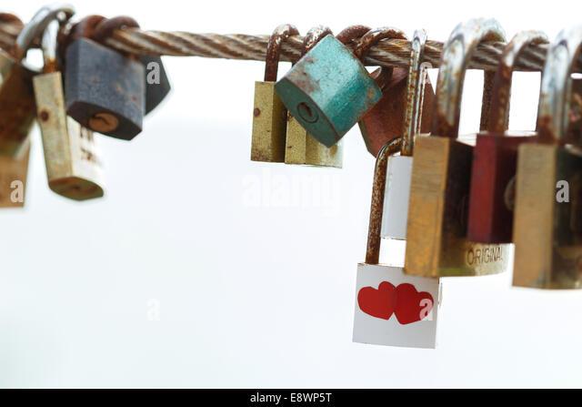 love key feeling sweet - Stock Image