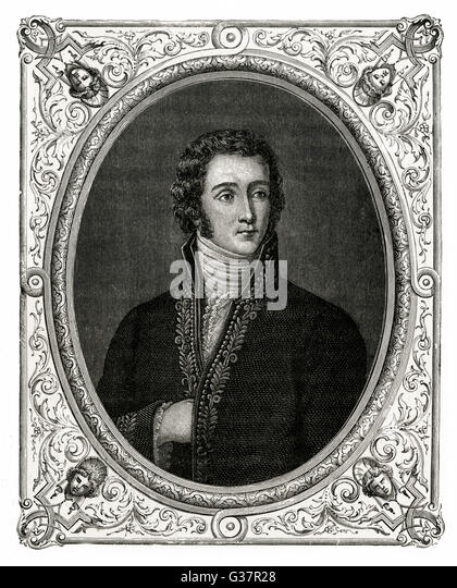 JOSEPH FOUCHE  French statesman and minister  of the police in France  between 1795 and 1816.      Date: 1759 - - Stock Image