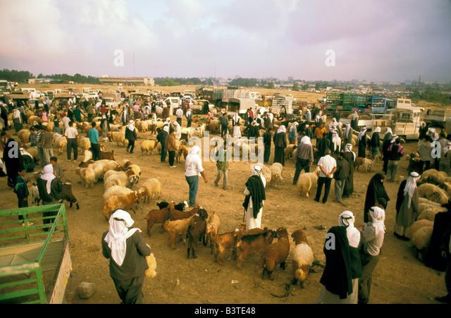 Asia, Israel, Beersheva. Bedouin market. - Stock Image