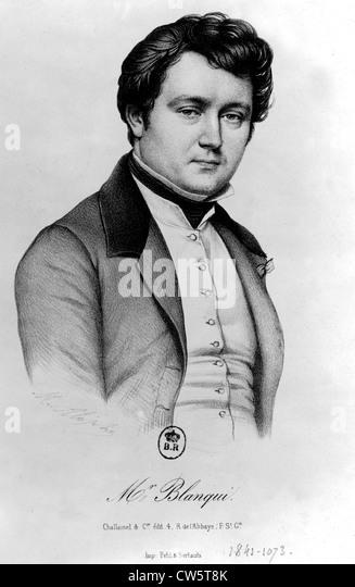 Louis-Auguste Blanqui - Stock Image