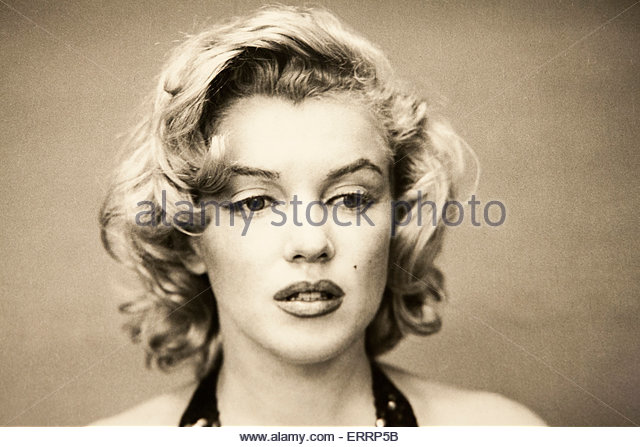 Marilyn Monroe Photograph, Metropolitan Museum of Art, Central Park, Manhattan, New York City - Stock Image