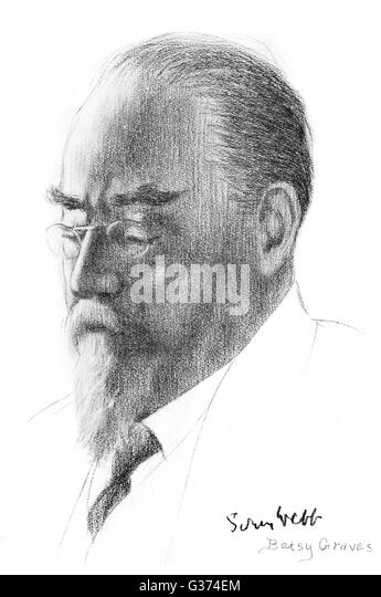 SIDNEY WEBB economist and political  theorist        Date: 1859-1947 - Stock Image