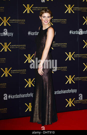 London UK 14th Nov 2013 : Ashley James attends the launch party for the Kardashian Kollection for Lipsy at Natural - Stock Image
