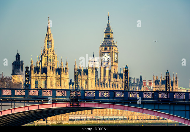 Big Ben and Houses of Parliament - Stock-Bilder
