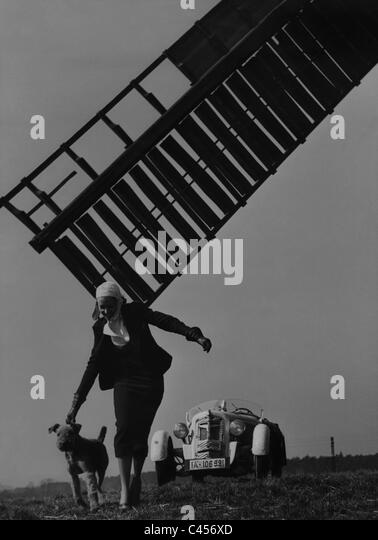 Trip to the country, 1936 - Stock Image