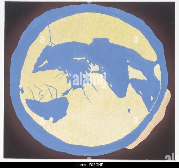 Representation of World, illustration - Stock Image