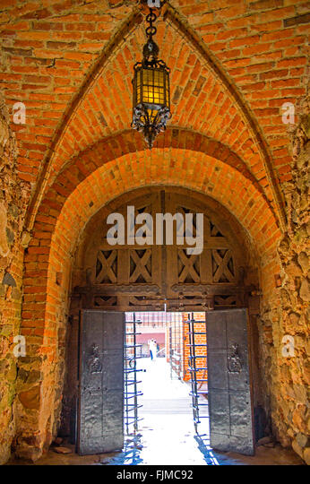 geography / travel, Lithuania, Trakai, Trakai Castle, chapel,Lietuva, Baltics, Baltic area, Baltic states, Baltic - Stock-Bilder
