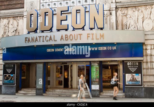 Odeon cinema, Covent Garden, London, England, UK - Stock Image