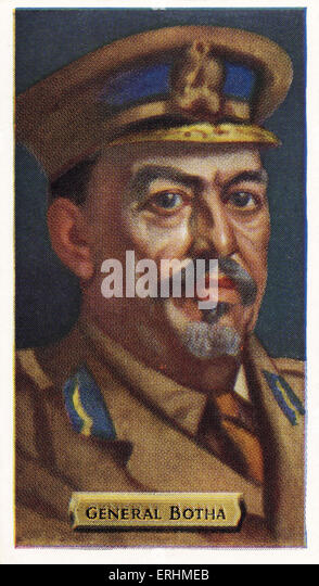 Louis Botha - First Prime Minister of the Union of South Africa LB: 27 September 1862 – 27 August 1919. - Stock Image