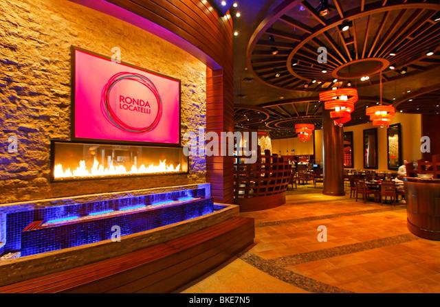 Ronda Locatelli Restaurant in Atlantis Hotel, The Palm Jumeirah, Dubai , - Stock Image