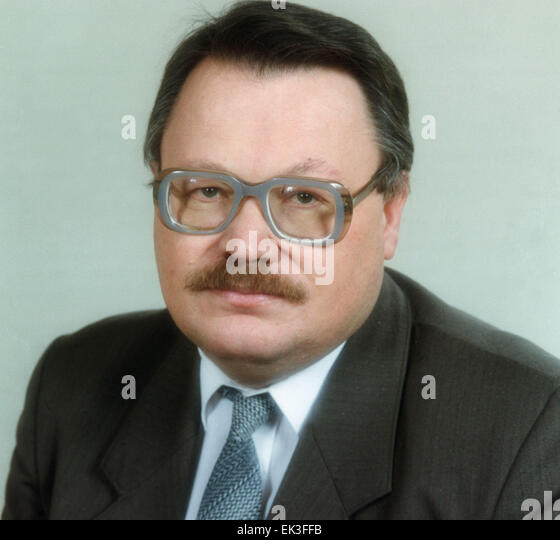 Moscow. Rudolf G. Pikhoya, Professor of History, head of the Russian Committee on Archival Affairs and member of - Stock Image