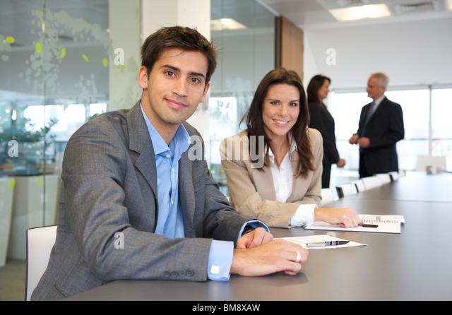 Young asian business executive - Stock Image