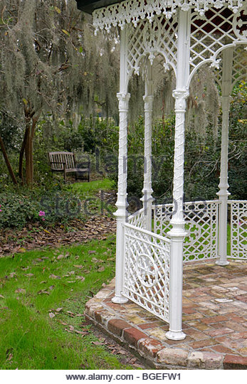 Charleston South Carolina Lowcountry Ashley River Road Magnolia Plantation and Gardens 1676 National Register of - Stock Image