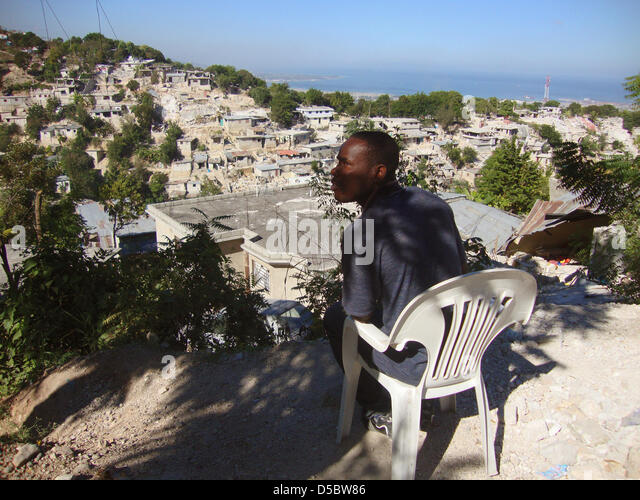 Haitis stock photos haitis stock images alamy for Canape vert port au prince haiti