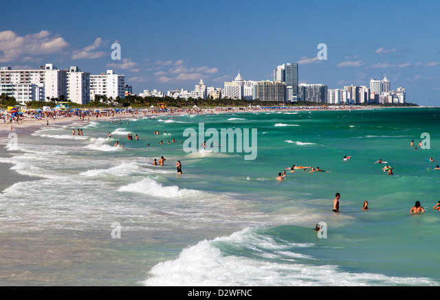 Miami Beach, USA - Stock Image