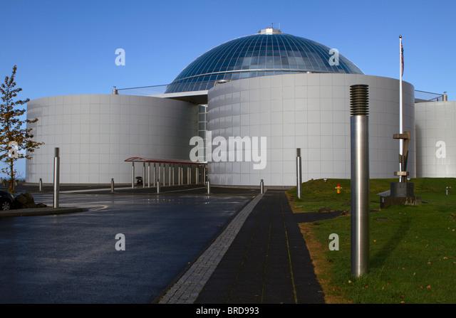 Perlan (The Pearl) Reykjavik, Iceland - Stock Image