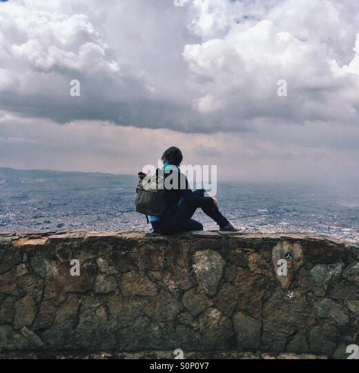 Overlooking Bogota - Stock Image