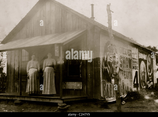 A little country store near New Hope School  Tecumseh, OK - Stock Image