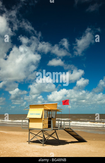Uruguay, Montevideo, Carrasco, Playa de Carrasco beach - Stock Image