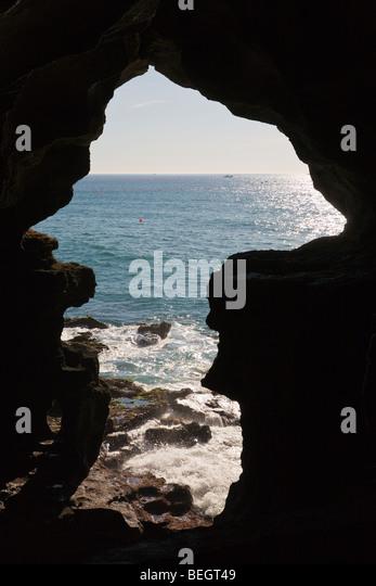 Hercules Cave Tangier Morocco - Stock-Bilder