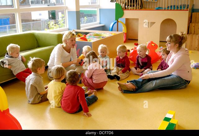 Kindergarten - Stock Image