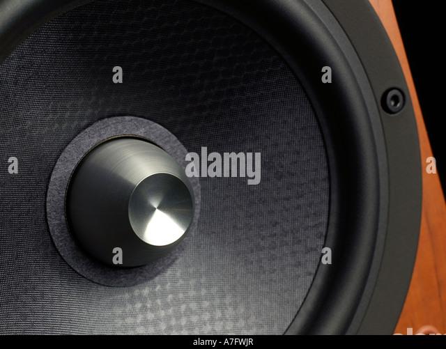 Audio Speaker horizontal - Stock Image