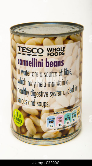 Cannellini beans - Stock Image