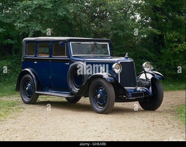 1930  Armstrong Siddeley Short 20 Cabriolet - Stock Image