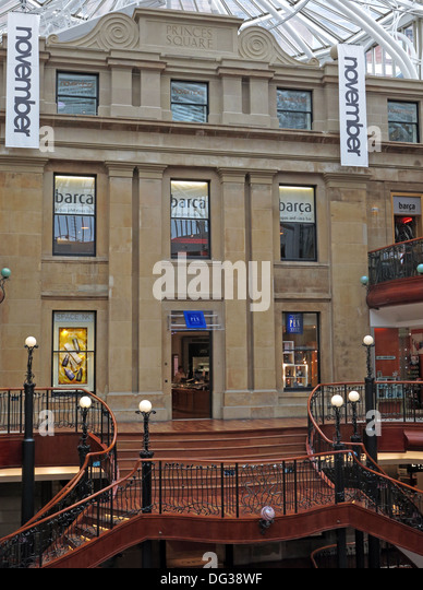 Princes Square, Glasgow City, Scotland, UK - Stock Image