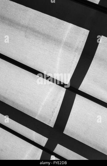 Abstract composition with industrial elements in gray tones - Stock Image