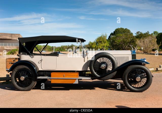 Vintage car, Darwin, Northern Territory, Australia - Stock Image