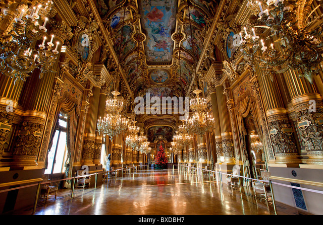 Paris, Opera House - Stock Image