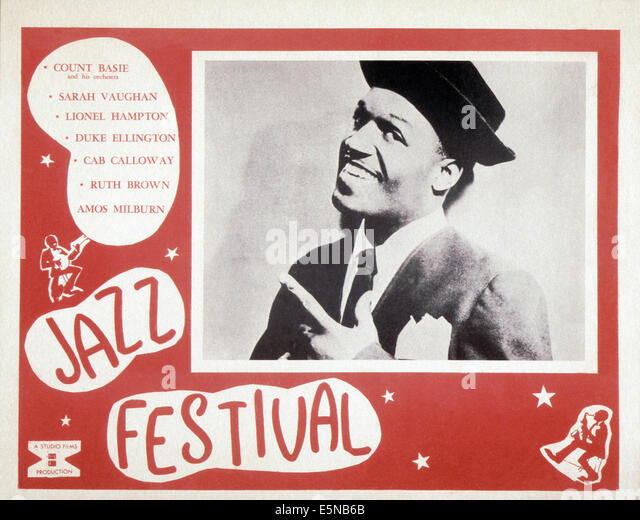 JAZZ FESITVAL, Lionel Hampton, ca. 1955 - Stock Image